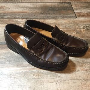 Cole Haan - Brown Leather Loafers (8.5M)